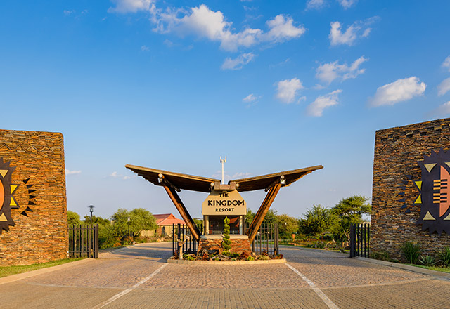 The Kingdom Resort Entrance